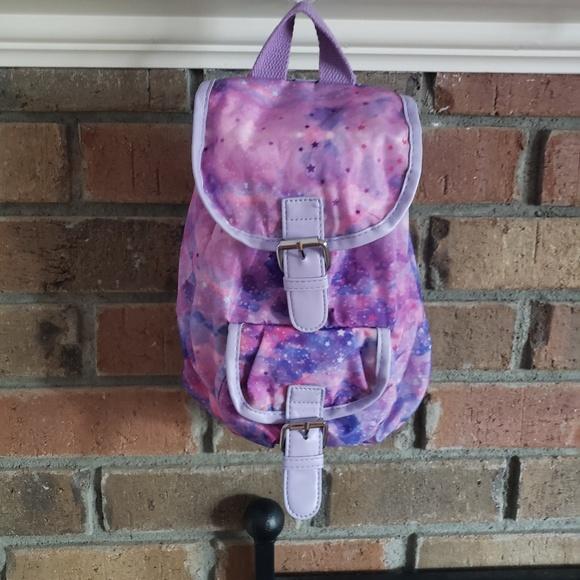 Other - Girls Mini Backpack Galaxy Purple